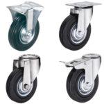 Что можно сказать об особенностях промышленных колесных опор с болтовым креплением?